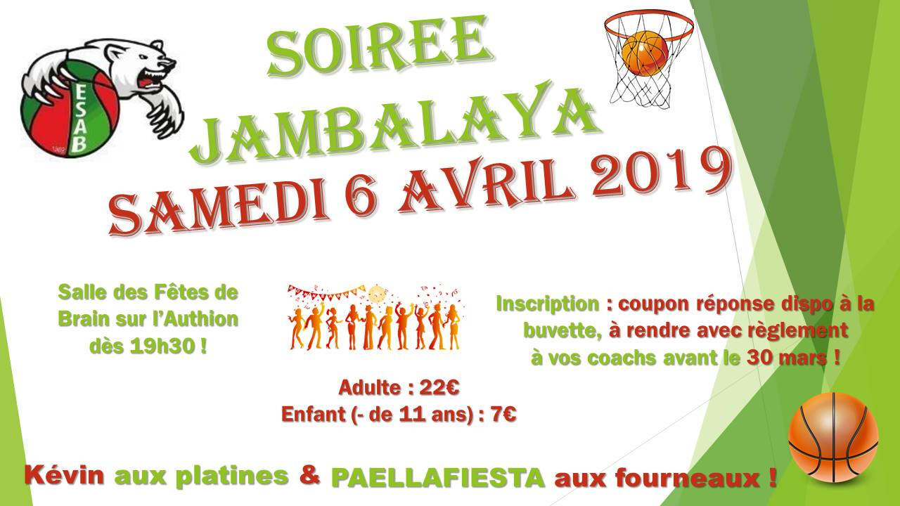 SOIREE ESAB BASKET